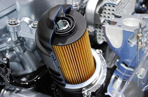 Cambiar el filtro de aceite del carro…