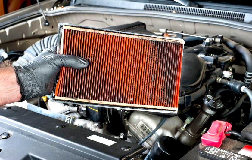 Filtro de aire del motor…